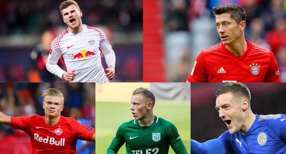 Sin rastro de Messi ni Cristiano: el top 20 de los goleadores que disputan la Bota de Oro 2020  [FOTOS]
