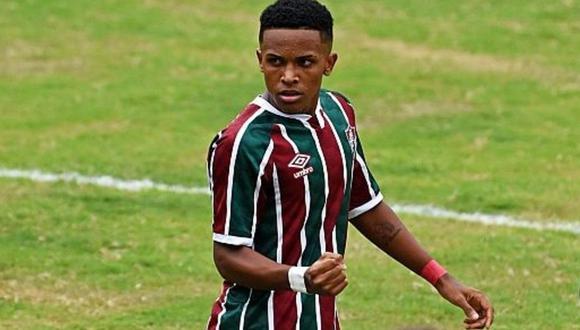 Kayky Chagas permanecerá en el Fluminense hasta el final de temporada. (Foto: Clarín)