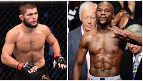 La millonaria suma que Khabib Nurmagomedov rechazó por pelear contra Floyd Mayweather. (UFC/Boxeo)