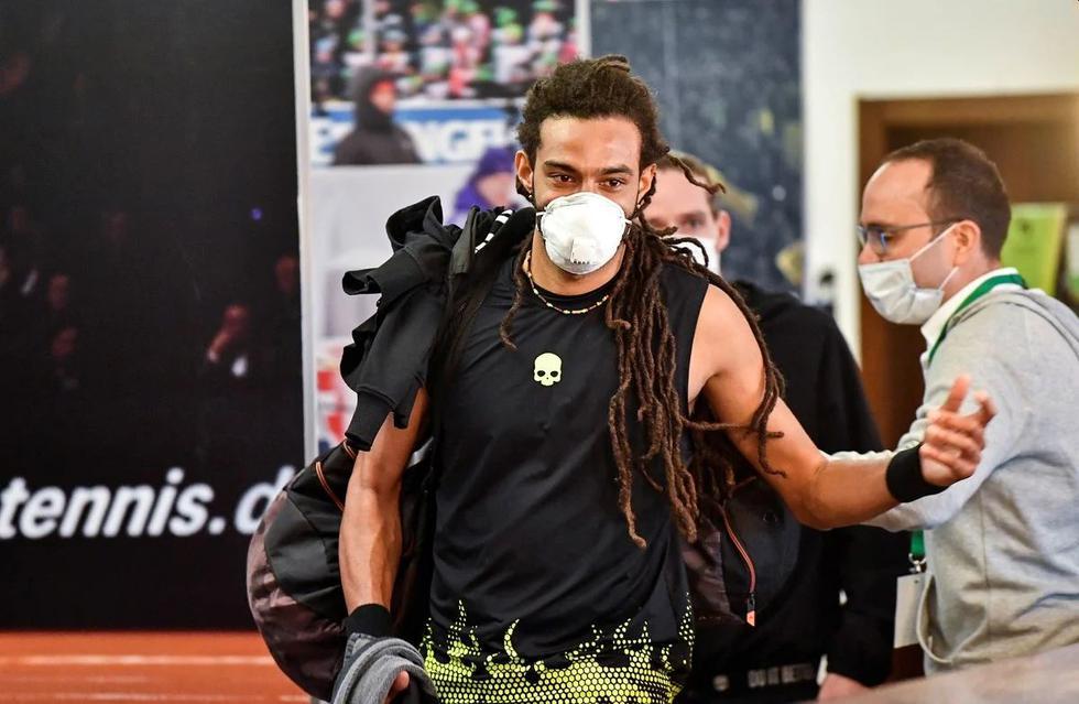 Dustin Brown es una de las estrellas que participa en el torneo. (Foto: AFP)
