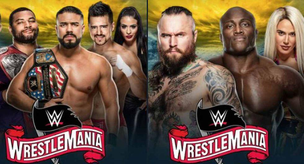 WWE confirmó dos combates más para WrestleMania 36. (Foto: @WWE)
