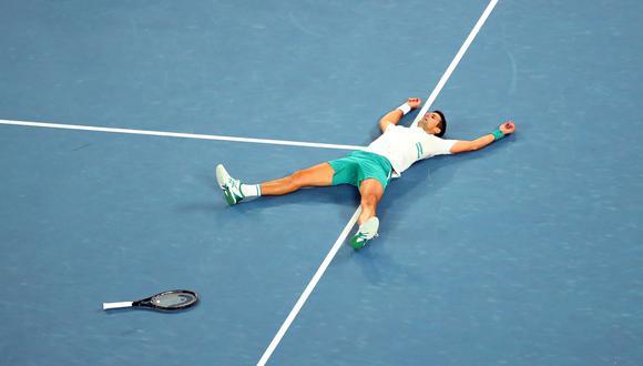 Novak Djokovic alcanzó las 310 semanas como número uno e igualó el récord de Roger Federer. (Reuters)