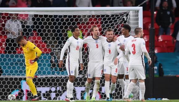 Inglaterra terminó en el primer lugar del Grupo D. (Foto: Agencias)