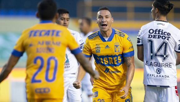 Tigres y Pachuca se midieron en la Liga MX. (Fuente. Internet)