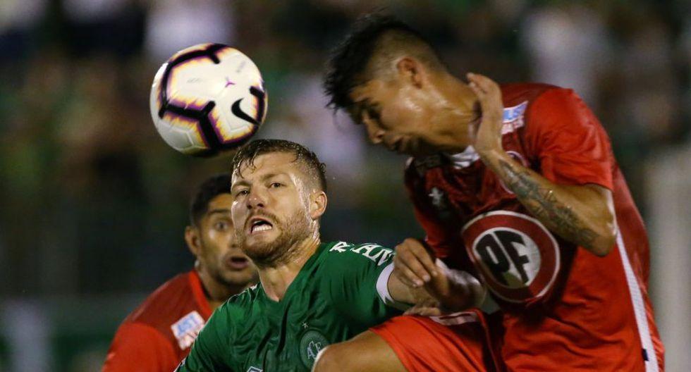 Unión La Calera empató 1-1 con Chapecoense y clasificó a la siguiente fase de Copa Sudamericana 2019  (Reuters)