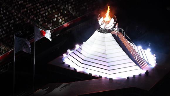 La ceremonia de inauguración de Tokio 2020 se llevó a cabo este viernes en el estadio Olímpico de la ciudad japonesa. (Foto: AFP)