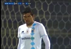Hector Zeta marcó el 2-2 en el duelo por la Liga 1 entre Sporting Cristal y Binacional [VIDEO]