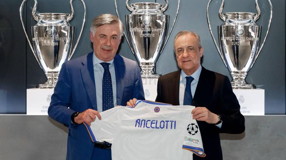 Carlo Ancelotti ya ejerce funciones como entrenador de Real Madrid. (Foto: Real Madrid)