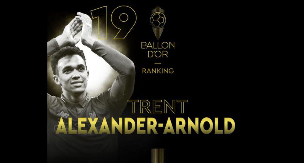 Trent Alexander-Arnold   Liverpool. (Foto: @francefootball)