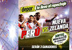 Perú vs. Nueva Zelanda: Depor te regala entradas para el partido por el repechaje en el Nacional