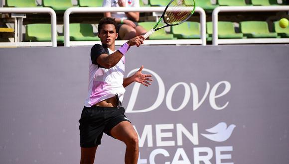 Juan Pablo Varillas avanzó a cuartos de final del ATP Challenger de Santiago III. (Foto: Legión Sudamericana)
