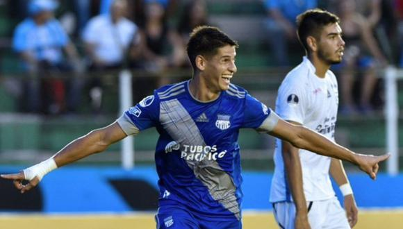 Emelec goleó 3-0 a Blooming en Bolivia por la Copa Sudamericana 2020.