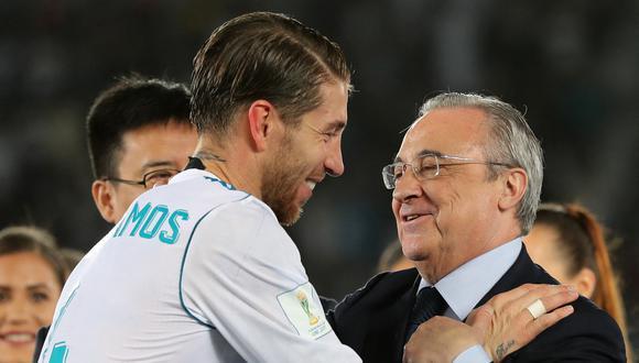 Ramos acaba contrato con Real Madrid el 30 de junio. (Foto: AFP)