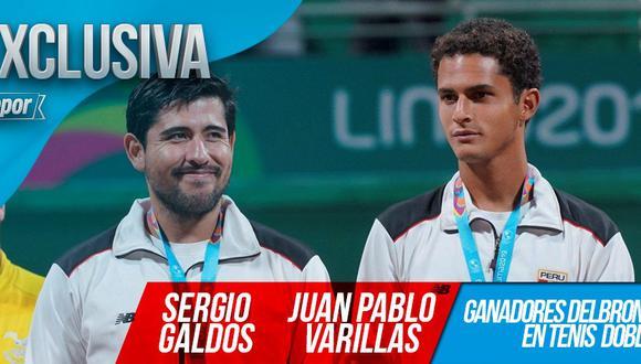Sergio Galdos y Juan Pablo Varillas confesaron que los hinchas peruanos superaron sus expectativas en Lima 2019. (Foto: GEC)