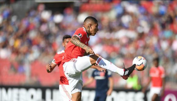 Internacional y la U. de Chile empataron 0-0 con Paolo Guerrero por Copa Libertadores 2020 en Santiago. (Foto: SC Internacional)