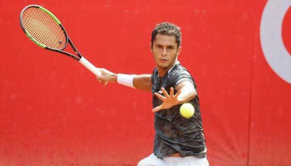 Juan Pablo Varillas ocupa el puesto 146 del ranking ATP. (Foto: GEC)