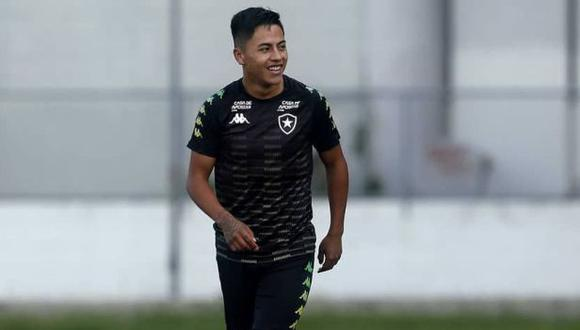 Alexander Lecaros fue cedido a préstamo a Avaí (Foto: Botafogo)
