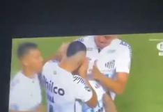 Se volvió loco: el festejo de Neymar luego del 2-0 de Santos ante Boca Juniors [VIDEO]