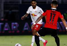 Gran paso al frente: Bragantino venció a Libertad por 'semis' de Copa Sudamericana