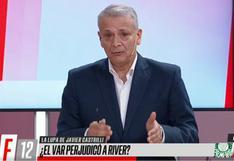 Javier Castrilli culpó directamente al VAR de la eliminación de River [VIDEO]