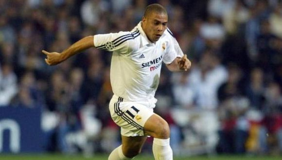 Ronaldo Nazario llegó al Real Madrid procedente del Inter de Milán en el 2002. (Getty)