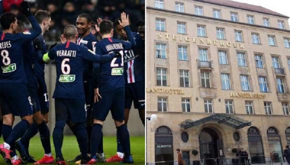PSG se mide al Leipzig en Alemania por la Champions League. (Foto: Internet)