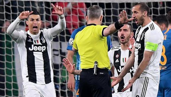 Giorgio Chiellini se refiere al paso de Cristiano Ronaldo por Juventus. (Foto: Reuters)