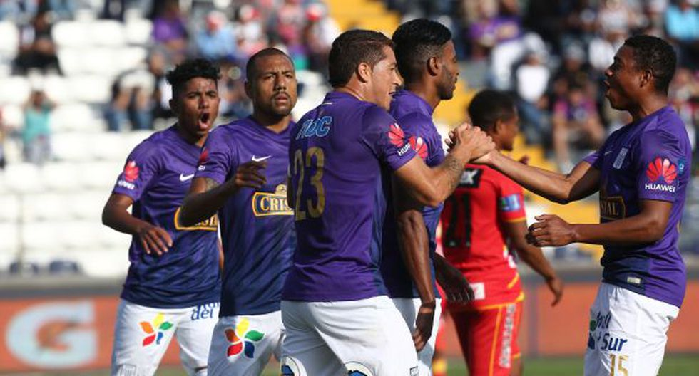 Alianza Lima ganó a Sport Huancayo por 1-0 en Matute. (Foto: Jesús Saucedo)