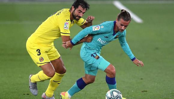 Barcelona vs Villarreal chocan en La Cerámica por la fecha 34 de LaLiga. (Foto: Getty)