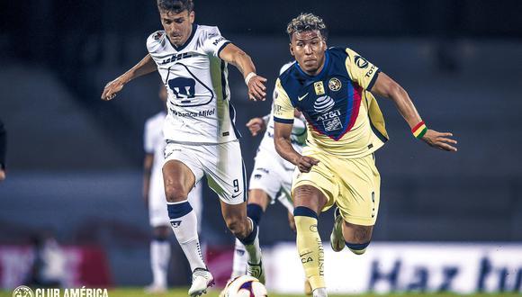 América vs. Pumas se vieron las caras este domingo por la jornada 17 de la Liga MX 2021 (Foto: @ClubAmerica)