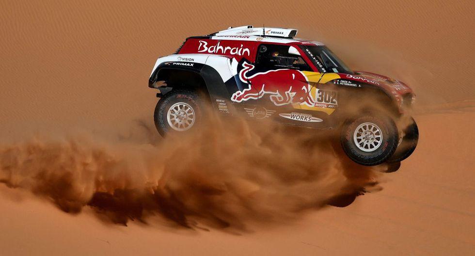 Stéphane Peterhansel ganó la Etapa 9 del Dakar 2020. (AFP)