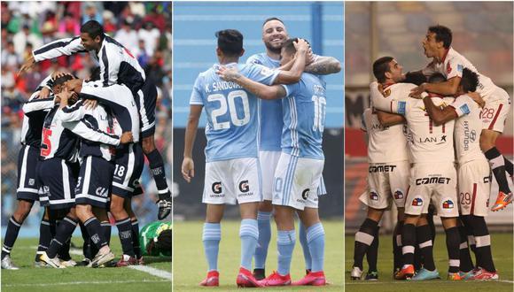 Alianza Lima, Sporting Cristal y Universitario de Deportes son los equipos con más puntos y partidos en estos 20 años. (Diseño: Depor)