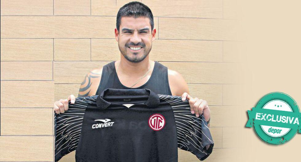 Erick Delgado ya compartió equipo con Franco Navarro en 2009, en Juan Aurich. (Josu Gogeascoechea)