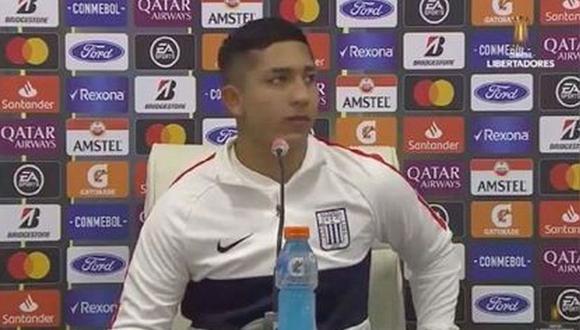 Montoya declaró tras la derrota de Alianza Lima ante Nacional. (Captura)