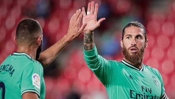 Real Madrid venció 2-1 a Granada con goles de Mendy y Benzema  (Foto:Getty Images)