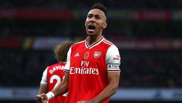 Pierre-Emerick Aubameyang acaba contrato con Arsenal en 2021. (Foto: Getty Images)