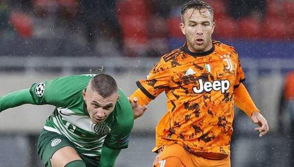 Arthur llegó a la Juventus esta temporada procedente del FC Barcelona. (Foto: Marca)
