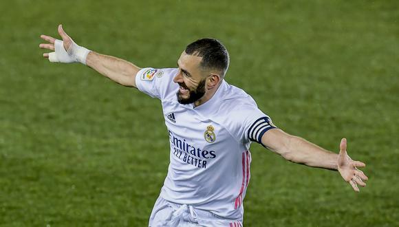 Real Madrid goleó al Alavés con tantos de Benzema y Hazard por LaLiga. (AP)