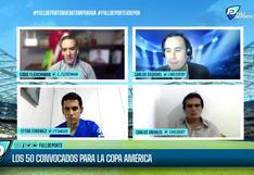 'Full Deporte por Depor': Gareca presentó la lista preliminar de 50 jugadores para la Copa América