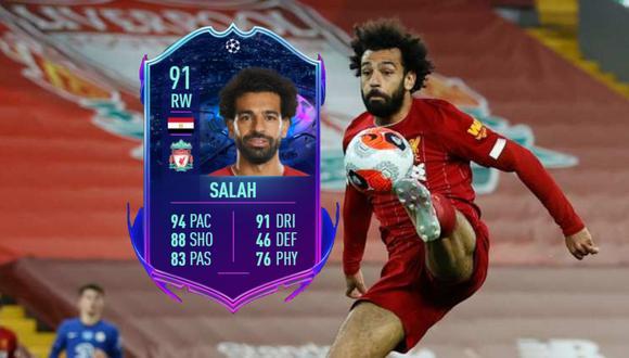 """FIFA 21: Salah, Oblak y Griezmann lideran el equipo de """"camino a la final"""" de Champions League. (Foto: AFP/EA Sports)"""