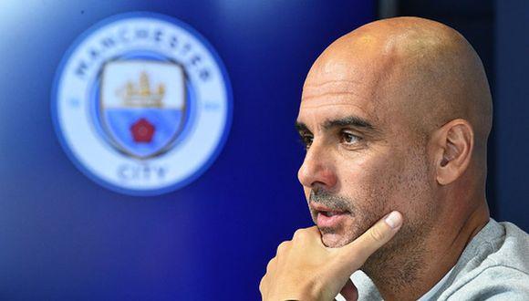 Pep Guardiola dirige a Manchester City desde el 2016. (Getty)