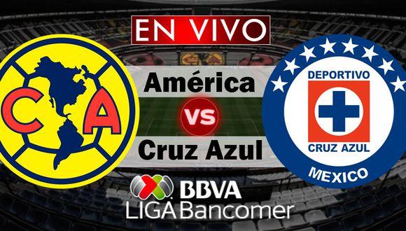 América y Cruz Azul empataron sin goles en el Estadio Azteca. Hoy se juega la vuelta y se define al campeón del Apertura 2018 de la Liga MX.