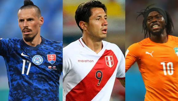 Lapadula podría jugar junto a Hamsik y Gervinho. (Foto: Agencias)