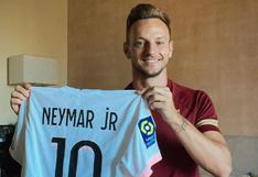 Enorme gesto de 'Ney': Rakitic agradeció regalo de Neymar tras partido amistoso