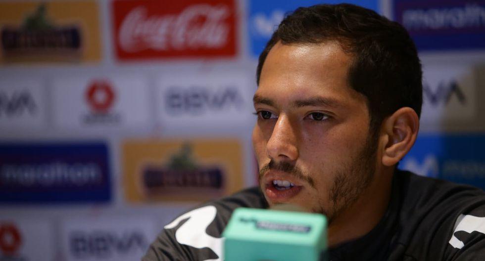 Selección Peruana | Patricio Álvarez dio una conferencia de prensa desde Buenos Aires. (Foto: Jesús Saucedo / GEC)
