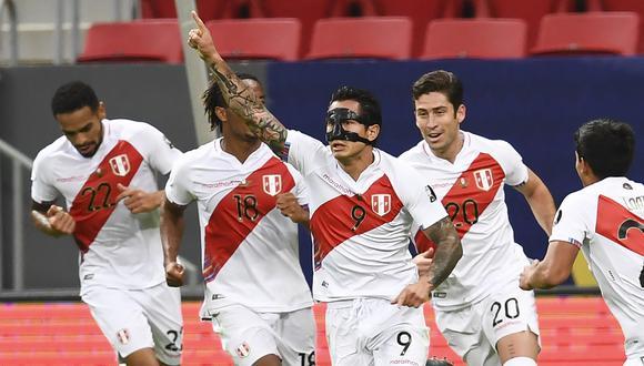 Lapadula fue el goleador de la Selección Peruana en la Copa América 2021 (Foto: AFP