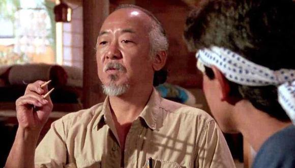 Pat Morita quería una quinta entrega de Karate Kid e iba a ser protagonizada por el señor Miyagi y Johnny Lawrence (Foto: Sony Pictures)