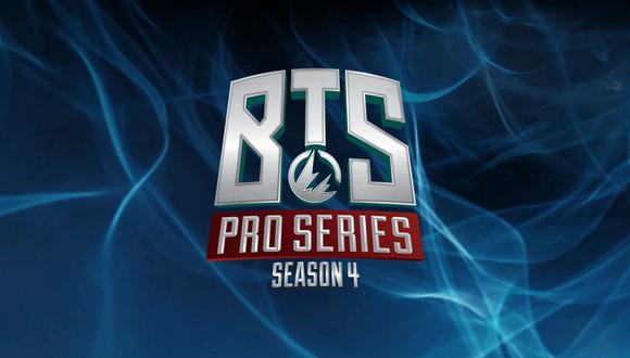 Dota 2: Thunder predator busca remontar en fecha 5 de BTS Pro Series Season 4 (Foto: Difusión)