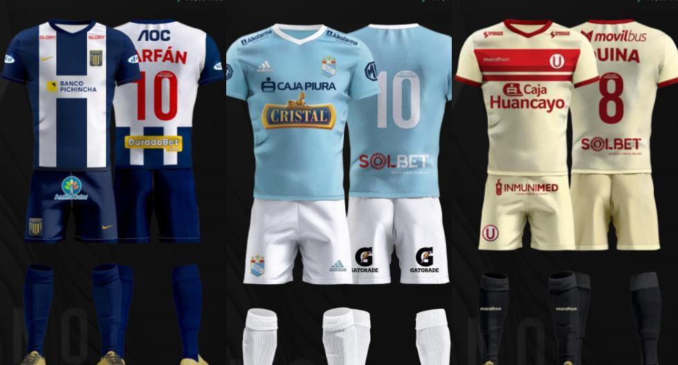 Los equipos con más sponsors en la Liga 1