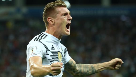 Toni Kroos fue campeón con Alemania en la Copa del Mundo Brasil 2014. (Foto: AFP)